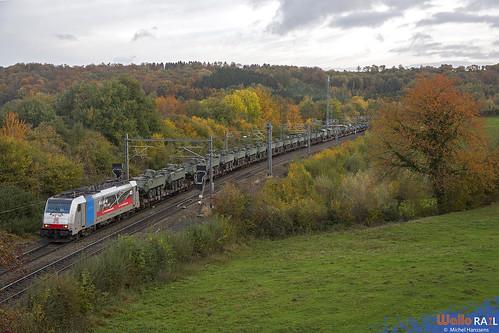 186 495 . DB Cargo . E 41586 . Gemmenich . 28.10.20.