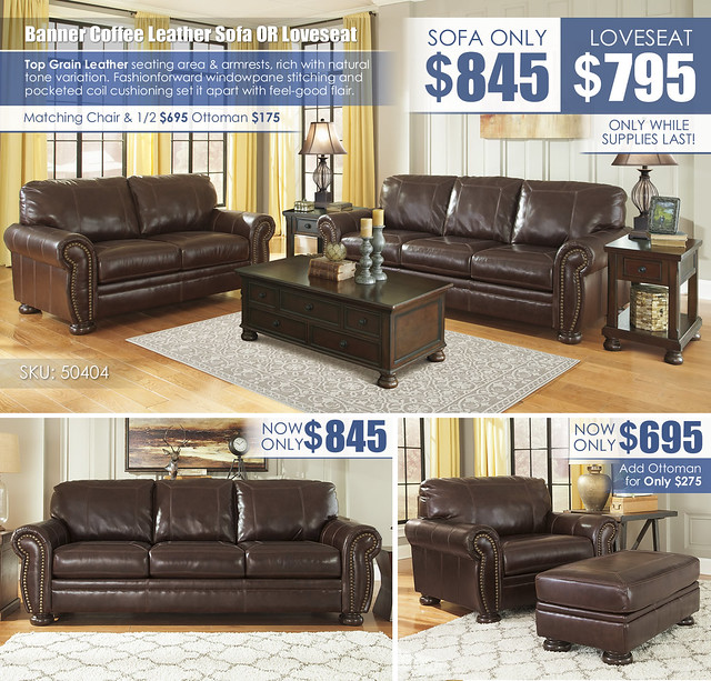 Banner Coffee Leather Sofa OR Loveseat_50404-38-35-T697_new
