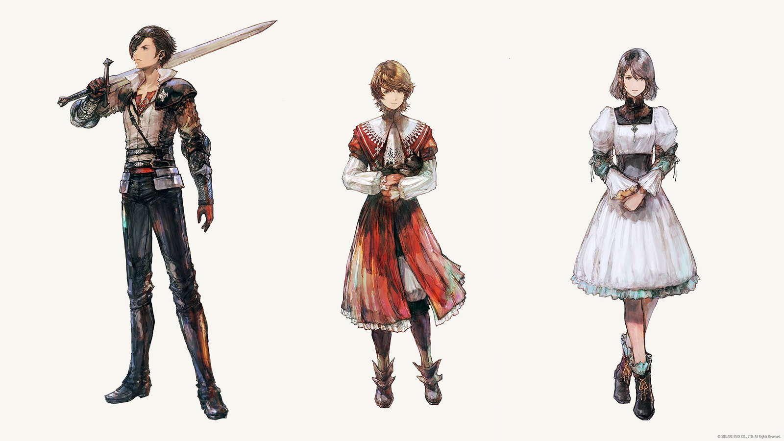 Final Fantasy XVI - character art