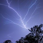 28. Oktoober 2020 - 21:13 - A nice lightning bolt that I captured during last night's storm in Brisbane :)