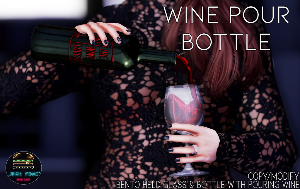 Junk Food – Wine Pour Bottle Ad