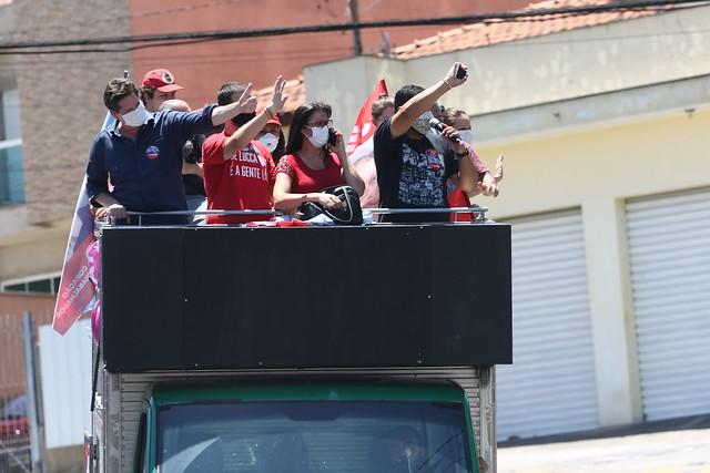 Carreata no bairro da Vila Prudente e região Foto Filipe Araújo