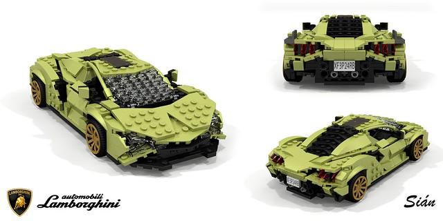 Lamborghini Sian FKP 37 (LEGO 42115)
