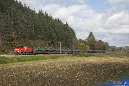 6518 . DB Cargo . Z 41586 . Hamoir . 28.10.20.