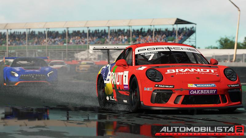 AMR2 Porsche Carrera Cup