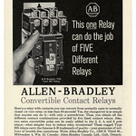 Thu, 2020-10-29 01:31 - Allen-Bradley Convertible Contact Relays (1961)