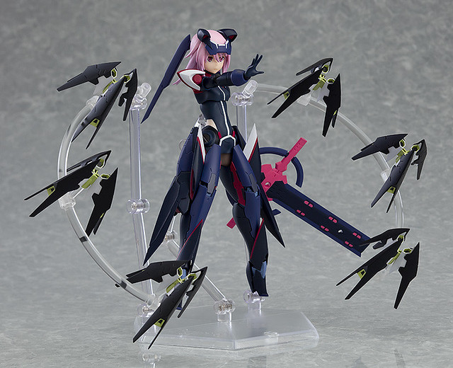 figma《機戰少女Alice》比良坂夜露【勇躍】 滿滿武裝的王牌戰鬥服造型登場!