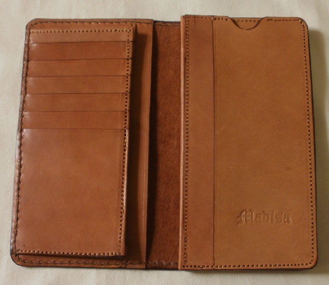 가죽공예-지갑(Leather craft-Wallet)