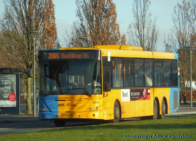 2008 VDL SBF4000 ARRIVA 1413 has 8 days left in contract and less than 11 months left in existence