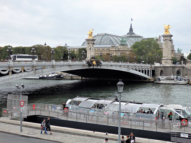 Paris - Puente Alejandro III - Grand Palais