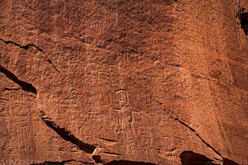Nice Faded Petroglyphs