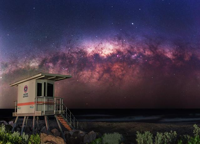 Milky Way at Port Bouvard, Western Australia