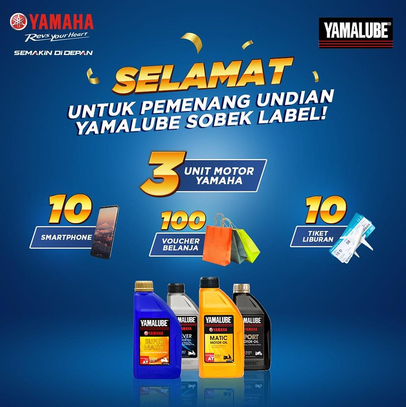 Program Sobek Label Oli Yamalube