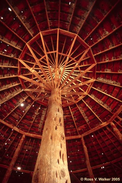 Round Barn Construction