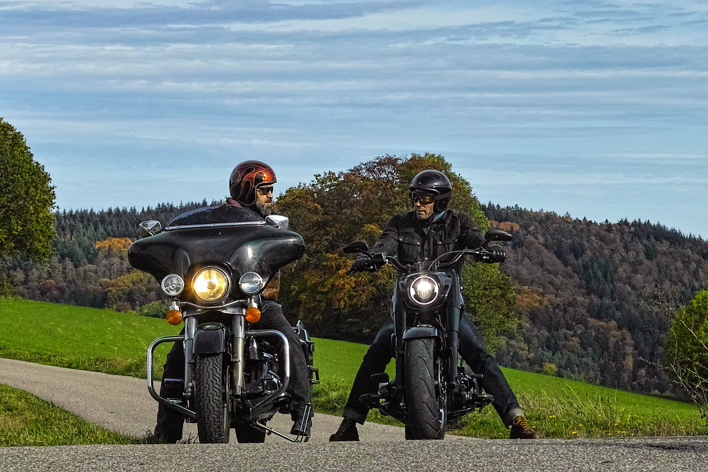 On little roads through the Odenwald, Germany