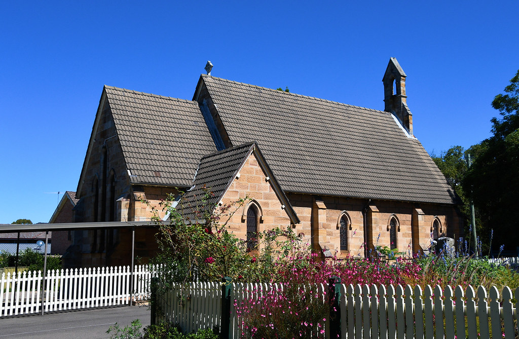 St Paul's Anglican Church, Canterbury, Sydney, NSW.