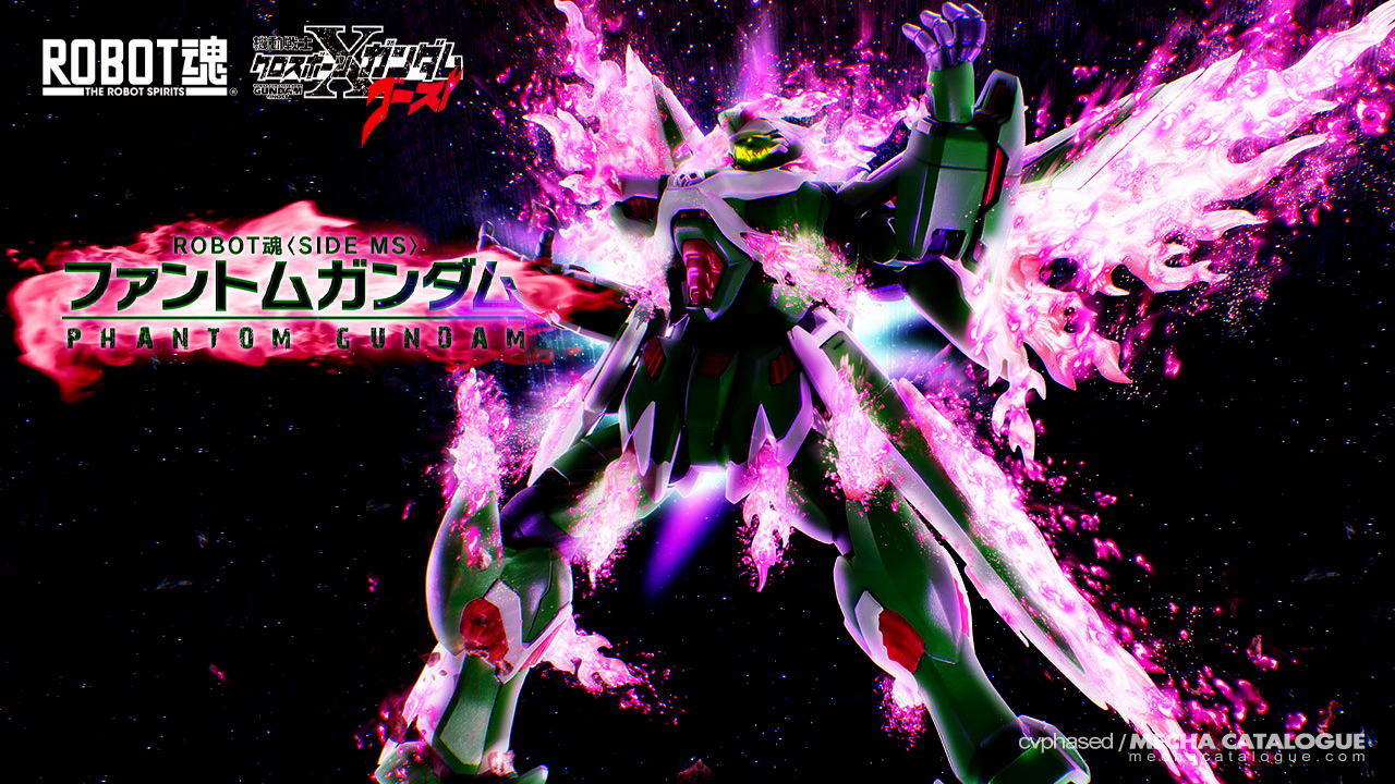 Yes, It's Not the X2: The Robot Spirits ⟨Side MS⟩ Phantom Gundam