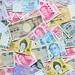 International Currency, RMB, Yen, Won, Baht, Singapore dollar, Hongkong dollar