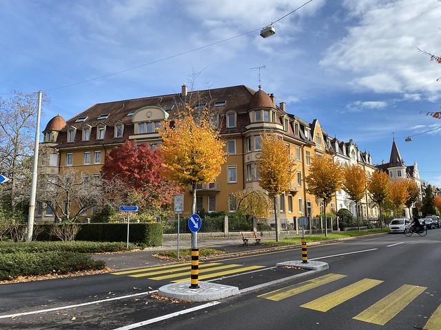 Rütimeyerstrasse in Basel, Switzerland