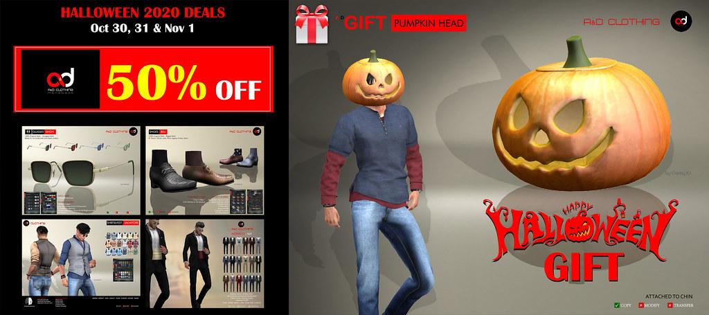 ! A&D Clothing ~ Halloween 2020 GIFT & DEALS