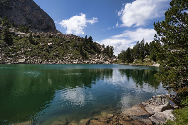 Estany Moreno, Pyrenees