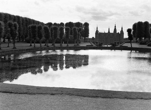 Frederiksborg Slot og Rundedam