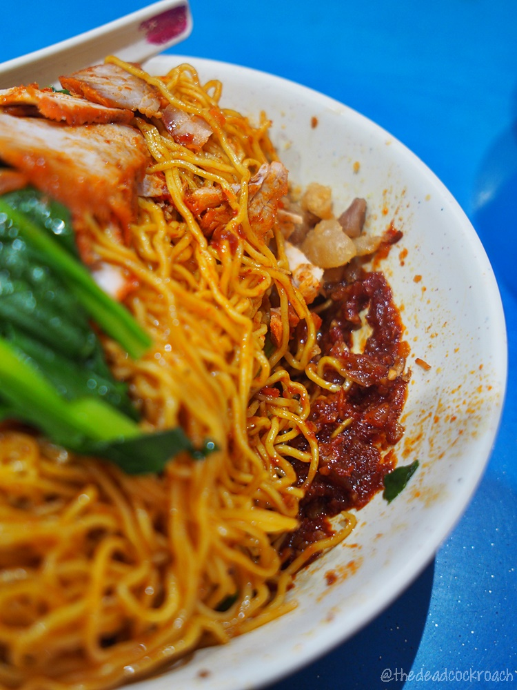 ying ji wanton noodle,wanton noodle,wanton mee,singapore,food review,food,review,taman jurong market & food centre,英记云吞面