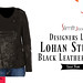 Designers Lindsay Lohan Studded Black Leather Jacket
