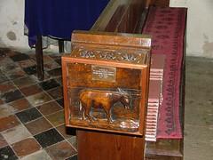 donkey alms box