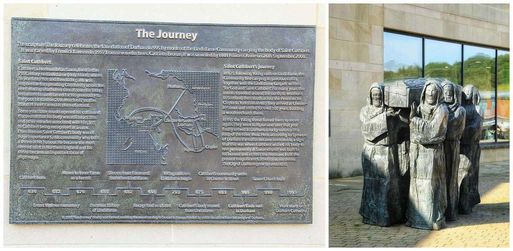 'The Journey' sculpture, Durham