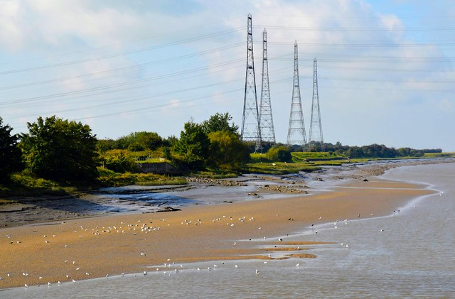 Low tide on the Ribble at Preston