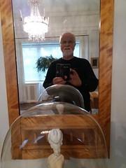 Thiel Galleryy, Stockholm: self portrait in the toilet