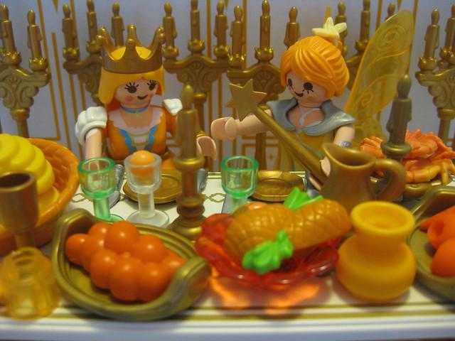 The Orange Faerie's Feast