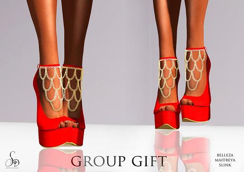 SENTINUS - Group Gift High Heels For Belleza-Slink-Maitreya