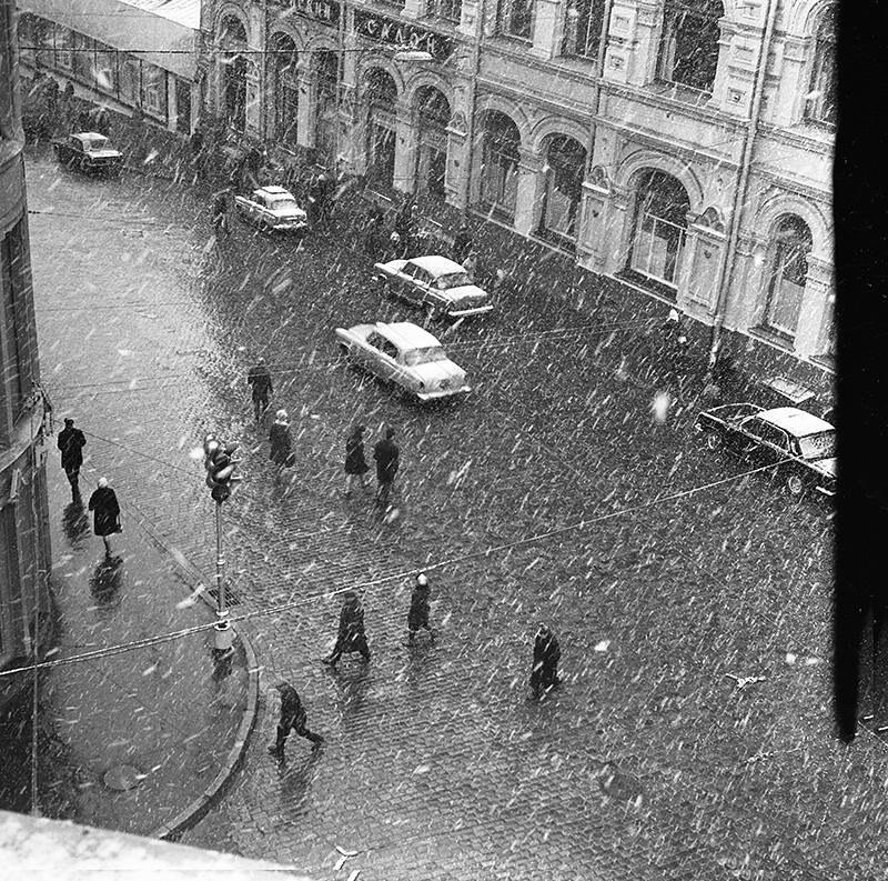 1970-е. Кузнецкий мост. Начало зимы