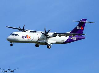 F-WWEX ATR72-600F Fedex