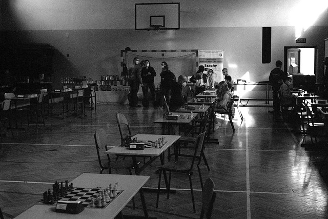 Turniej szachowy podczas zarazy / Chess tournament in times of a plague
