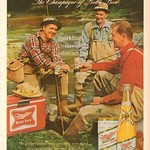 Sat, 2020-10-03 17:00 - 1965 Miller High Life Beer Advertisement Sports Afield May 1965