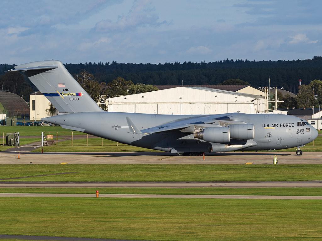 United States Air Force   Boeing C-17A Globemaster III   00-0183