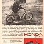 Sat, 2020-10-03 17:01 - 1965 Honda Trail 90 Advertisement Sports Afield May 1965