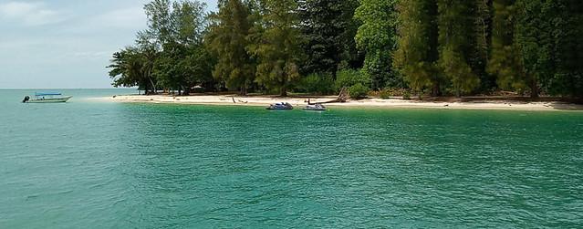 Beras Basah Island boats