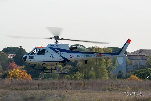 F-ZAHB Eurocopter Ecureuil Direction Generale de l'Armement Essais en vol