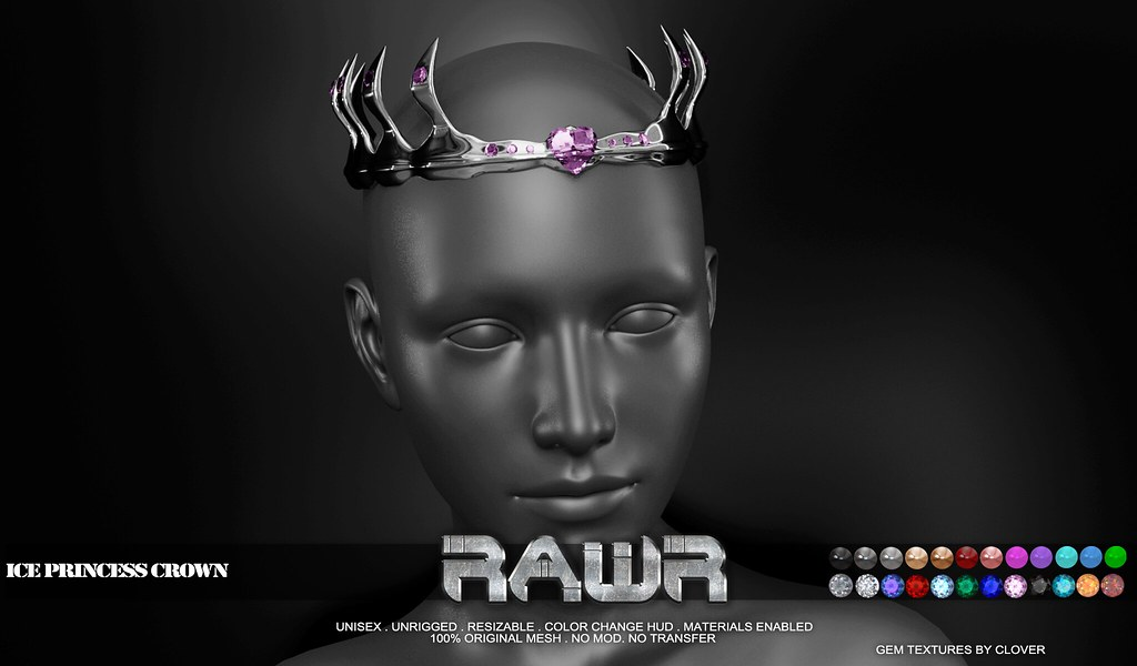 RAWR! Ice Princess Crown PIC