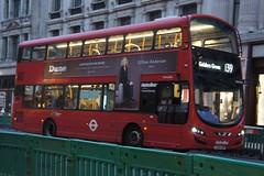 "Metroline TFL Route 139 - VWH2245 - ""GILLIAN ANDERSON - DUNE LONDON"""