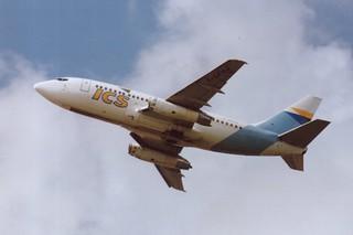 F-GFVJ Boeing 737-200 @ Schiphol 01-07-1990