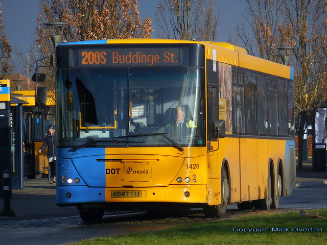 Final week in contract for 2008 VDL SBF4000 Arriva 1428 on route 200S - bus scrapped November 2020