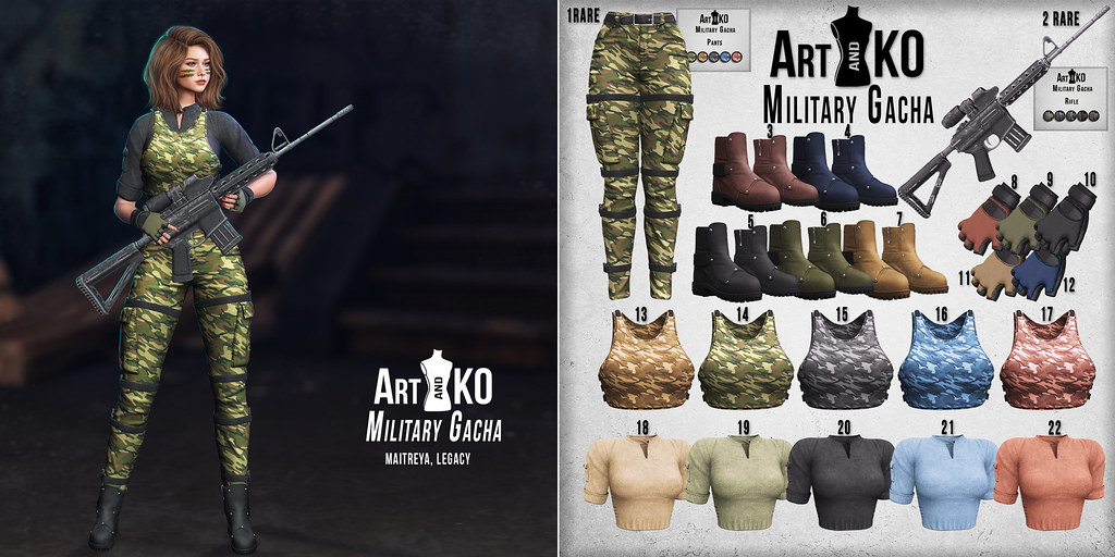 Art&Ko – Military Gacha – Gacha Garden