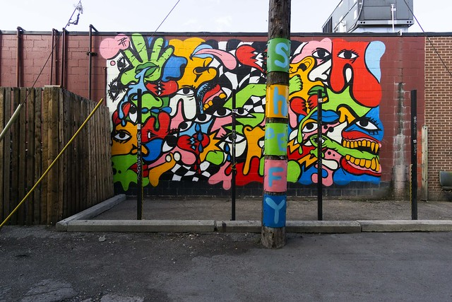 Murals in the market (MITM) Detroit - Shefey
