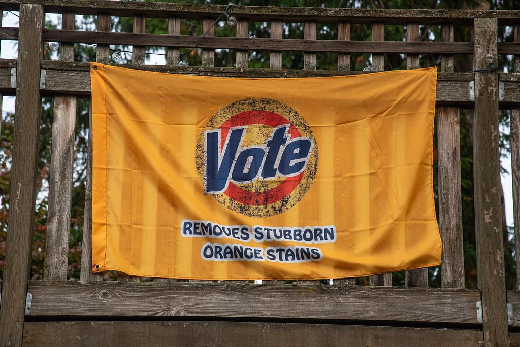 removes stubborn orange stains