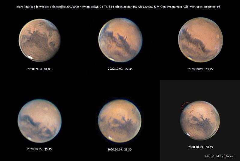 A növekvő Mars - Fridrich János - VCSE
